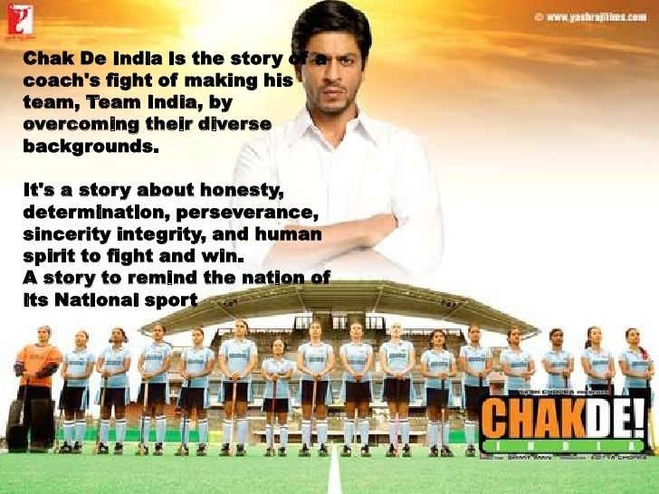 Chak De! India Learnings from Chak De India