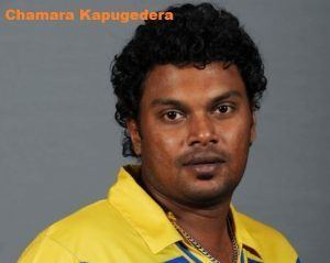 Chamara Kapugedera cricket career wife height age family and more