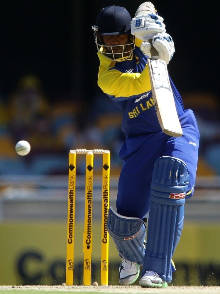 Chamara Silva (Cricketer) in the past