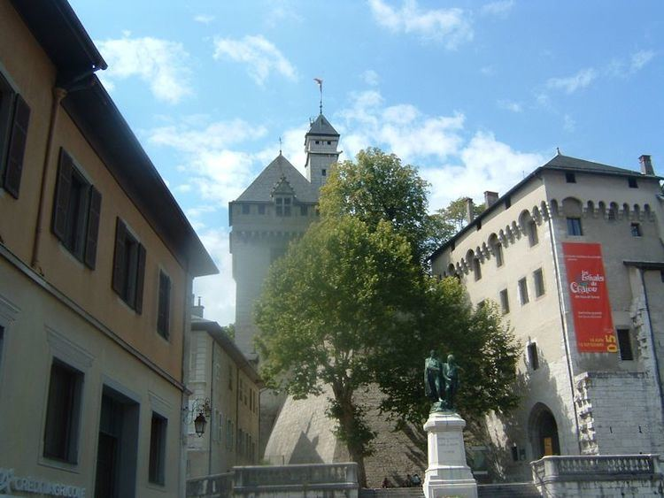 Chambery in the past, History of Chambery