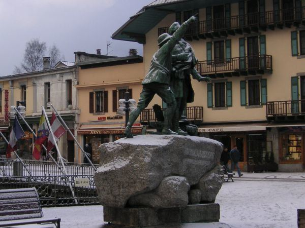 Chamonix in the past, History of Chamonix