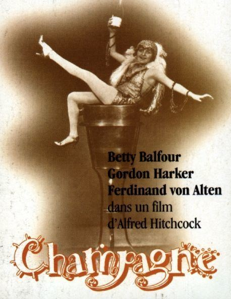 Champagne (1928 film) Hitchcock Champagne 1928 Muet chmpagne Pinterest Champagne