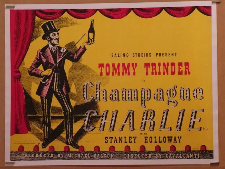Champagne Charlie (1944 film) Champagne Charlie Vintage Movie Poster at SimonDwyerCom
