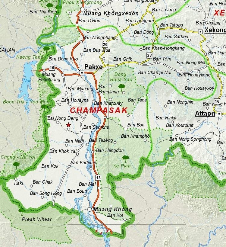Champasak Province in the past, History of Champasak Province