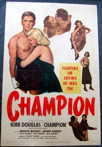 Champion (1949 film) Jo Sports Inc