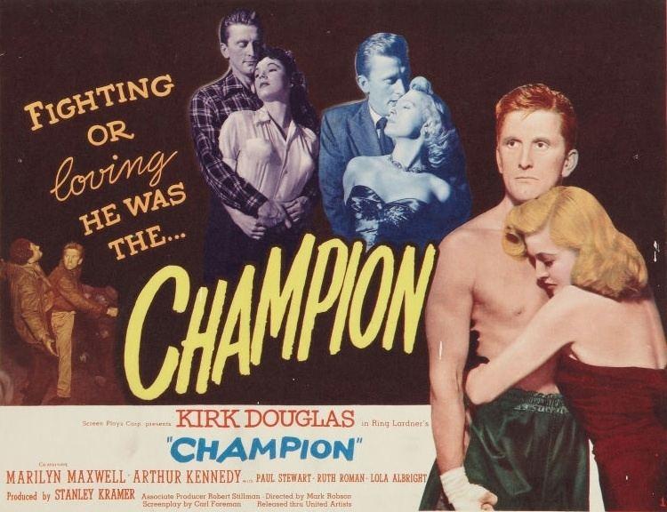 Champion (1949 film) Champion 1949 film Alchetron The Free Social Encyclopedia