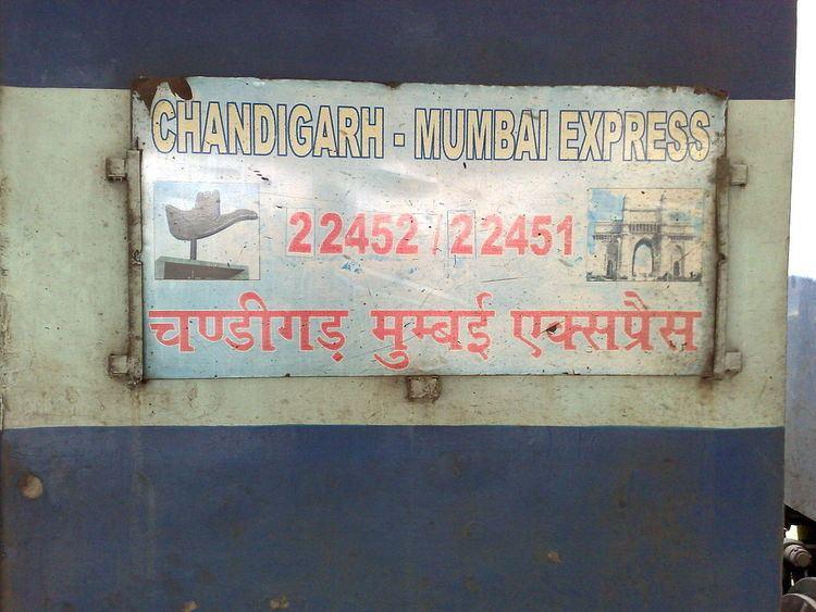Chandigarh Bandra Terminus Superfast Express