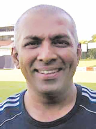 Chandika Hathurusingha (Cricketer) playing cricket