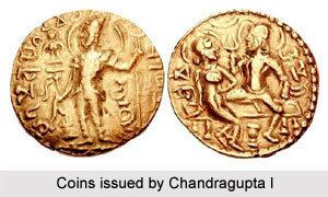 Chandragupta I Coins of Chandra Gupta I