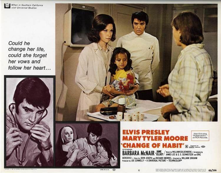 Change of Habit elvis presley change of habit 1969 1960s Film Postres