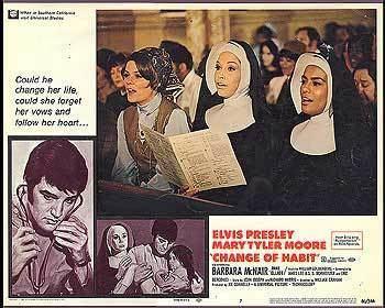 Change of Habit CHANGE OF HABIT 1969 ON THE TEXAS 27 FILM VAULT Balladeers Blog