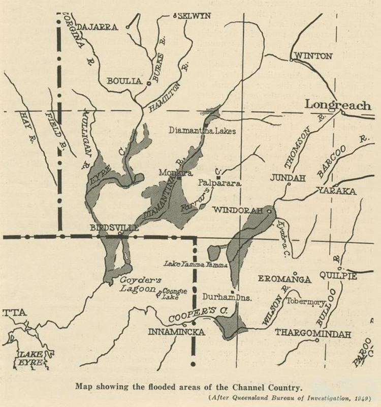 Channel Country Channel Country Queensland Historical Atlas
