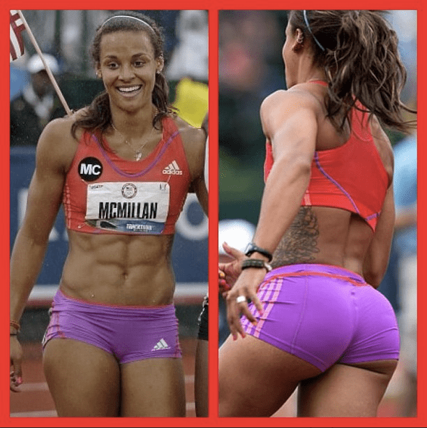 Chantae McMillan Support Heptathlon Olympian Chantae McMillan Run For The