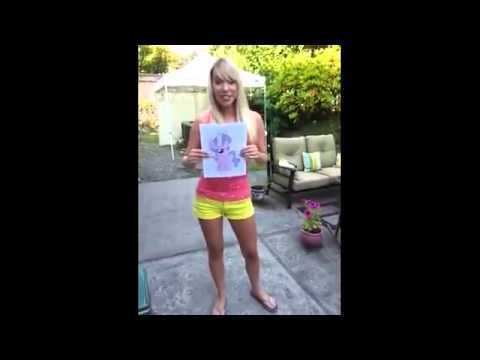 Chantal Strand Chantal Strand Presenting Diamond Tiara Doused Ice Bucket Challenge