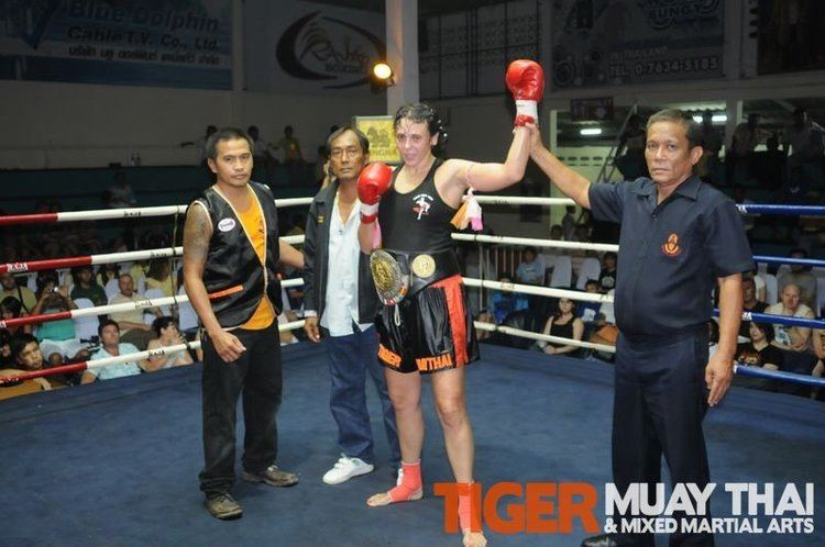 Chantal Ughi Chantal and Cyrus fight for WPMO World Titles at King39s