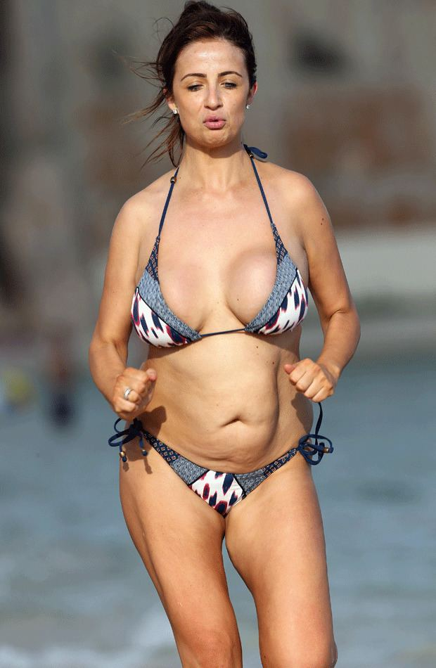 Idea and chantelle houghton bikini nothing