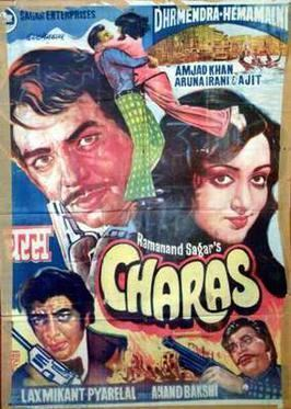 Charas (film) movie poster