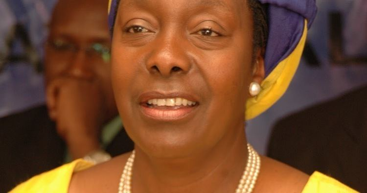 Charity Ngilu PEOPLE OF KENYA Charity Ngilu First woman prsidential candidate in