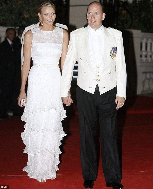 Charlene, Princess of Monaco Monaco royal wedding Naomi Campbell upstages Princess