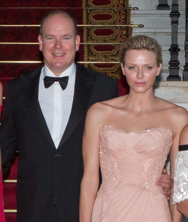Charlene, Princess of Monaco Princess Charlene and Monaco royal family at the Love Ball