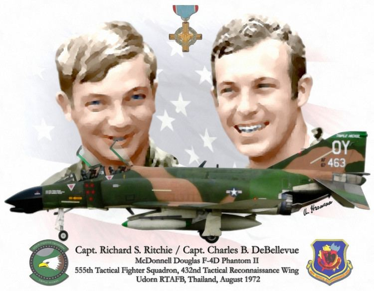 Charles B. DeBellevue Capt Richard S Ritchie Capt Charles B DeBellevuequot by
