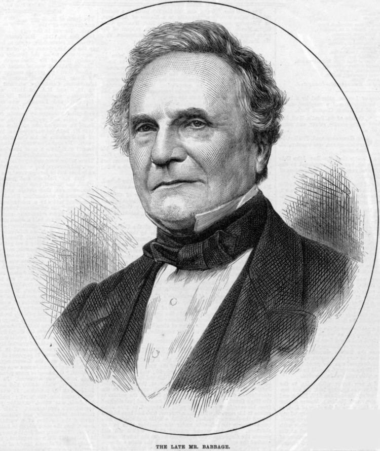 Charles Babbage httpsuploadwikimediaorgwikipediacommonsdd