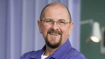 Charles Dale BBC One Casualty MacKenzie Big Mac Chalker