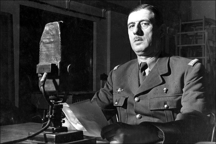 Charles de Gaulle BBC News Today In pictures De Gaulle in London