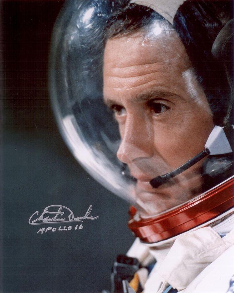 Charles Duke Duke Charlie Autographed Print Astronaut Scholarship