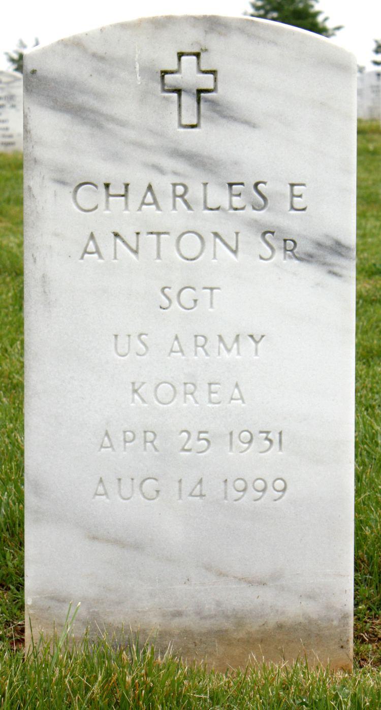 Charles Edward Anton Charles Edward Anton Sr 1931 1999 Find A Grave Memorial