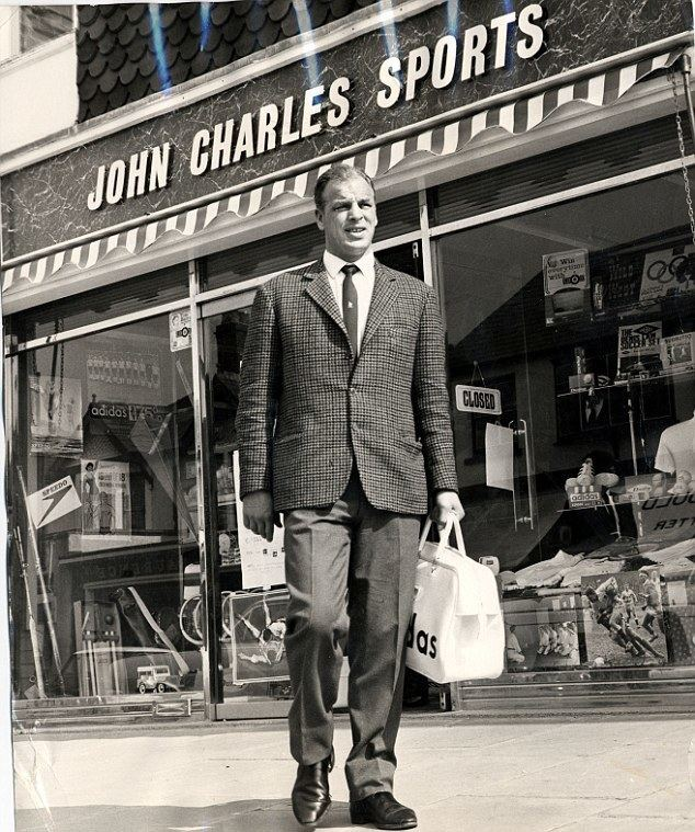 Charles (footballer) Hall of Fame John Charles A gentle giant feared