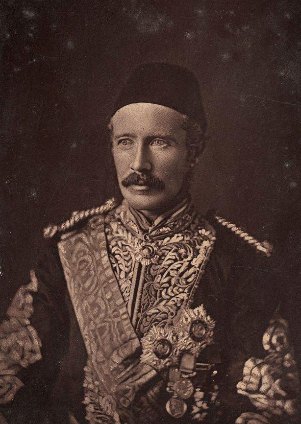 Charles George Gordon Gordon Pasha Charles George Gordon at Khartoum 1875