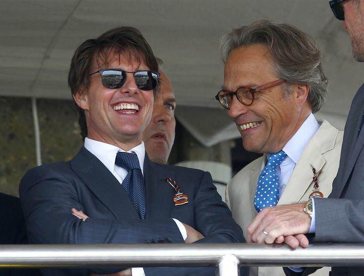 Charles Gordon-Lennox, 11th Duke of Richmond Tom Cruise talks to Charles GordonLennox Earl of March at