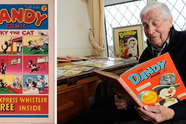 Charles Grigg Charles Griggs 22 years as cartoonist for The Dandy comic