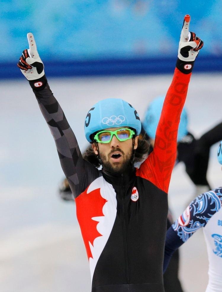 Charles Hamelin Canada39s Charles Hamelin wins shorttrack gold in Sochi