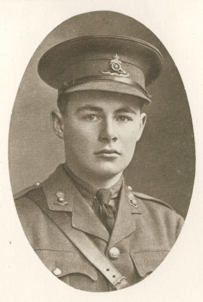 Charles Henry Gould Gould Henry Charles Hamerton Winchester College at War