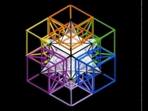Charles Howard Hinton AnaKata Hipercubo 4d Tesserato Tesseract Charles