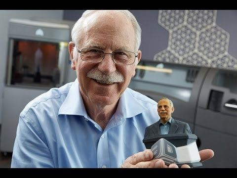 Charles Hull Charles W Hull 3D printing stereolithography YouTube