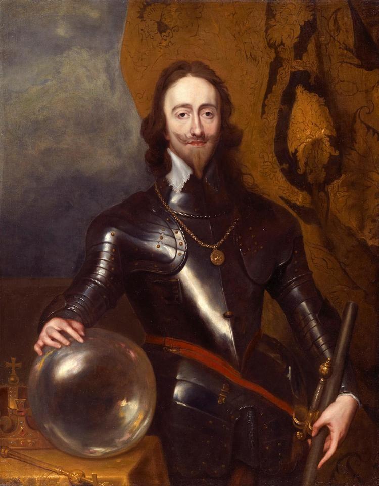 Charles I of England Studio of Sir Anthony Van Dyck 1599 1641 King