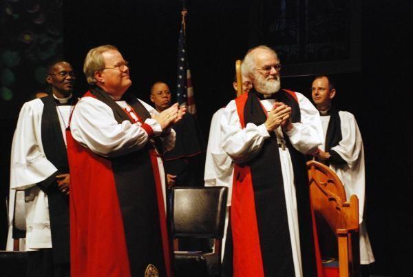 Charles Jenkins (bishop) Bishop Charles Jenkins and Archbishop Rowan Williams Episcopal Church