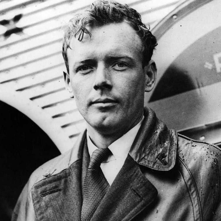 Charles Lindbergh Lindbergh Charles Augustus quotthe Lone Eaglequot WW2 Gravestone