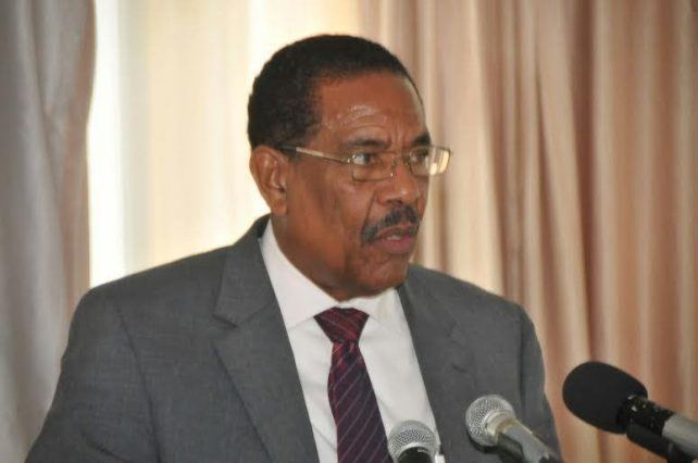 Charles Savarin President Savarin speaks on violence in Roseau Dominica News Online
