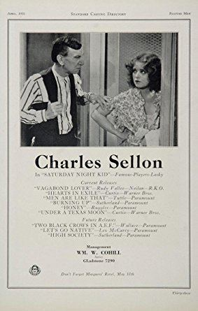 Charles Sellon Amazoncom 1930 Charles Sellon Actor Movie Film Casting Ad