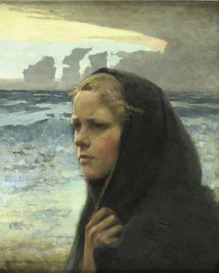 Charles Sprague Pearce FileCharles Sprague Pearce La Bourasquejpg Wikimedia