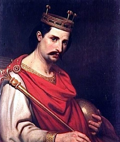 Charles the Bald Charles the Bald Crowned Holy Roman Emperor Rome Across Europe