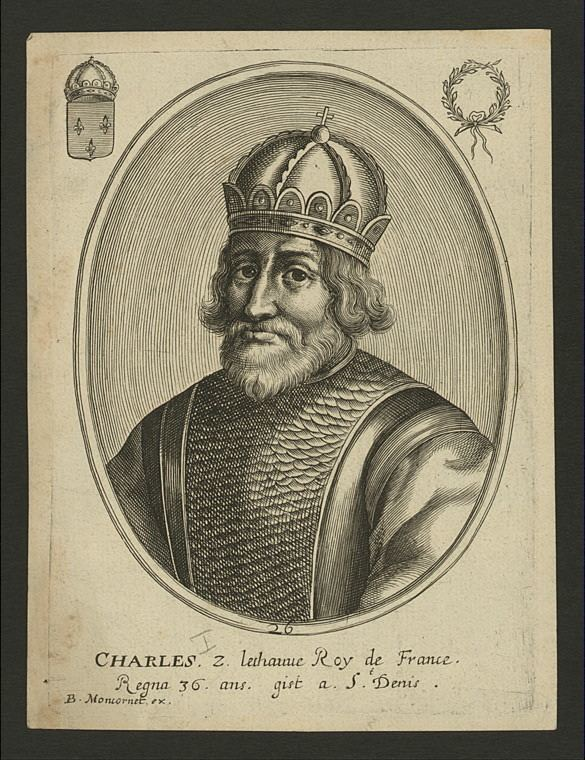 Charles the Bald Charles II king of France Charles the Bald NYPL