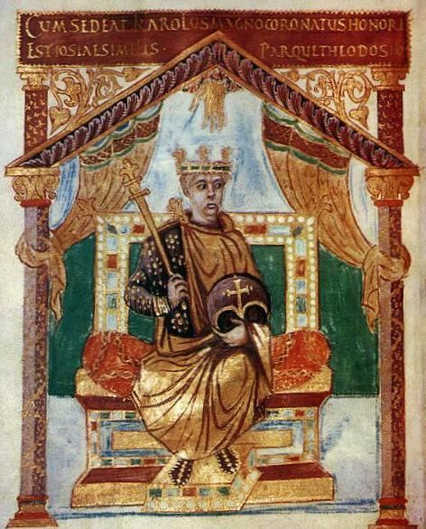 Charles the Bald Charles the Bald 823877 Son of Louis the Pious and Judith