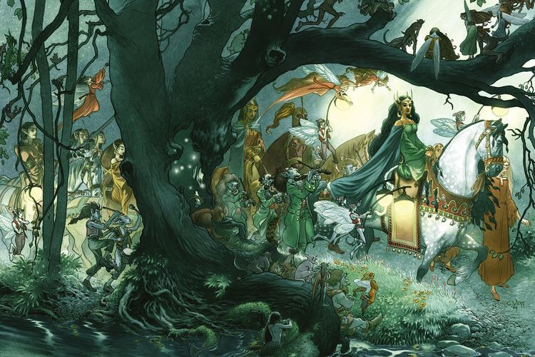 Charles Vess Charles Vess screenshots images and pictures Comic Vine