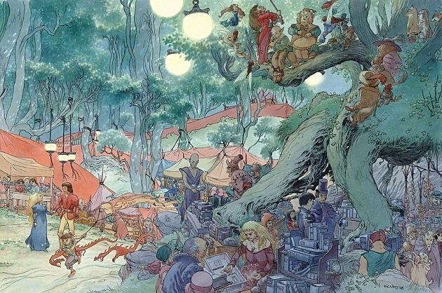 Charles Vess Today In Comics History A Tribute to Charles Vess
