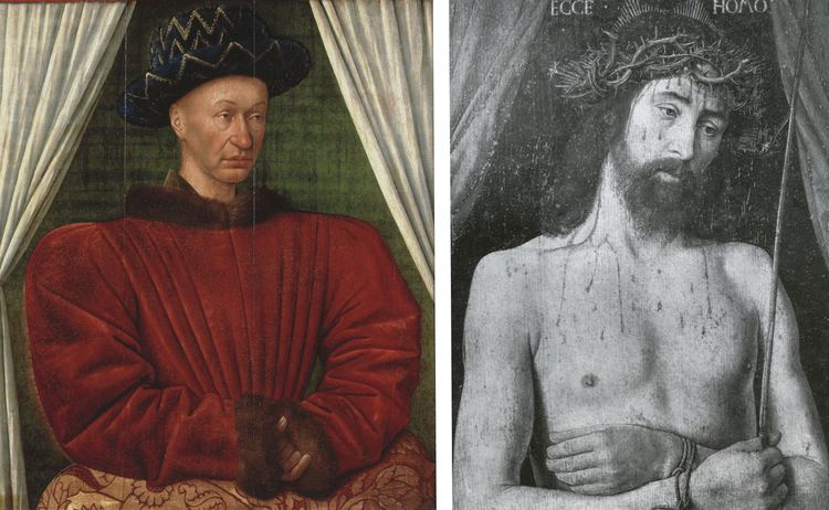Charles VII of France EPPH Fouquets Portrait of King Charles VII c1450